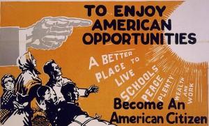 Billboard, c 1919 (Library of Congress)